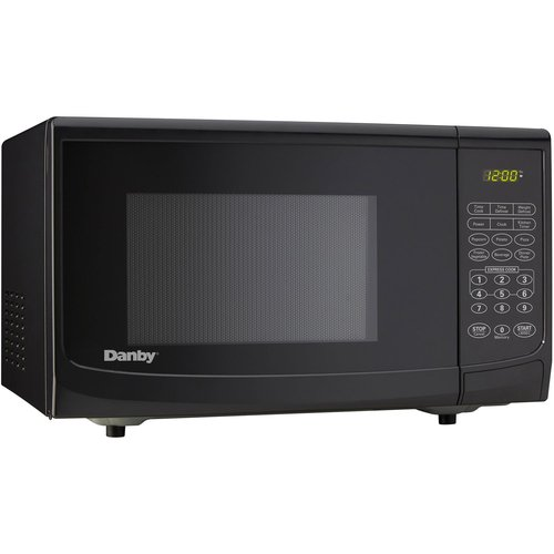 Danby 0.7 cu.ft. 700 Watt Countertop Microwave, Black