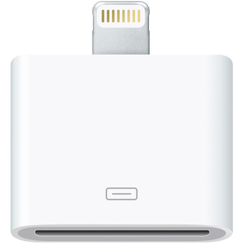 Apple Lightning to 30-Pin Adapter for iPhone iPad iPod w/ Lightning Connector MD823ZMA