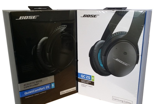 b71ef4ef55c Bose QuietComfort 25 Acoustic Noise Cancelling Headphones Black. ‹ ›