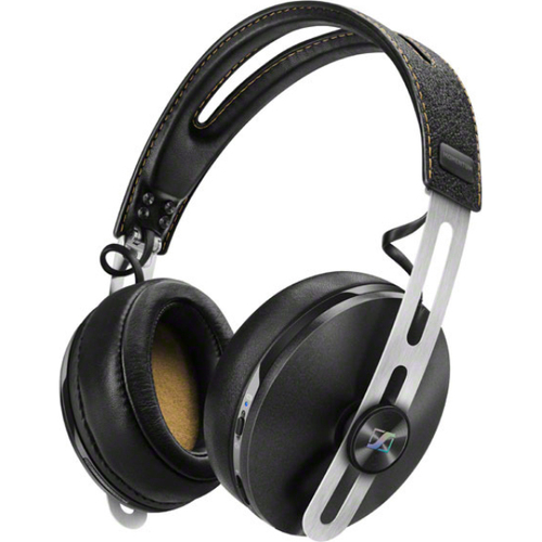 Sennheiser Momentum 2 Over-Ear Wireless Headphones with Active Noise Cancellation - Black