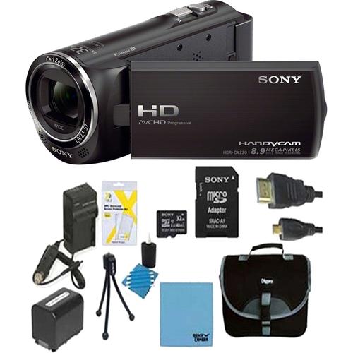 Sony 1080p HD Camcorder Bundle