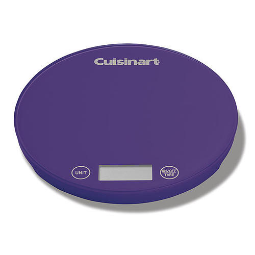 Cuisinart FS-1PR Digital Kitchen Scale - Purple