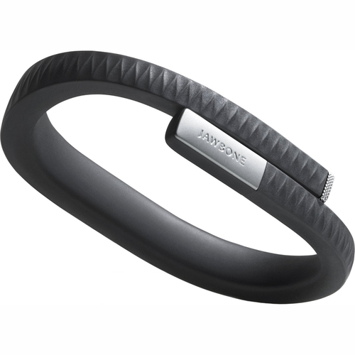 Jawbone UP by Jawbone - Medium Wristband - Retail Packaging - Onyx OPEN BOX