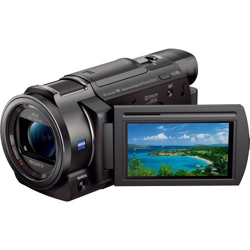 Sony FDR-AX33/B - 4K Camcorder with 1/2.3` Sensor (Black) - OPEN BOX