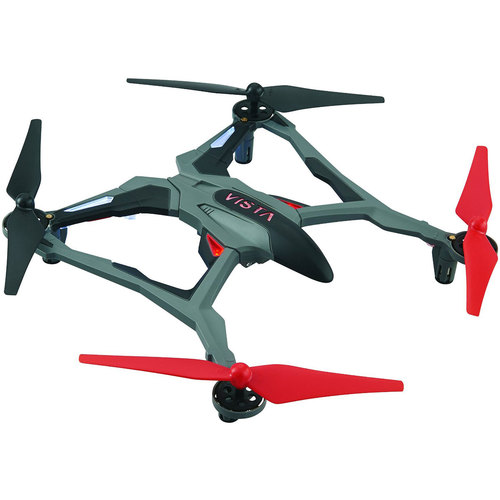 Dromida Vista UAV Ready-to-Fly Intense Performance Quadcopter RTF Drone (Red) DIDE03RR