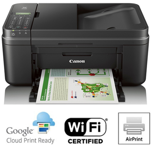 Canon PIXMA MX492 WiFi All-In-One Printer Scanner Copier Fax