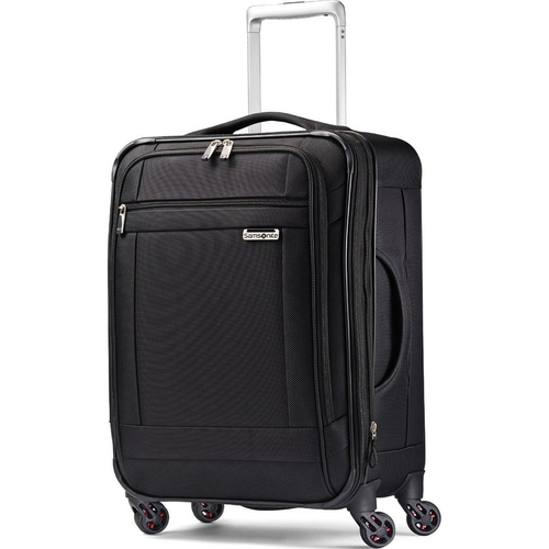 Samsonite SoLyte 20 Expandable Spinner Carry On Suitcase Luggage (Black)