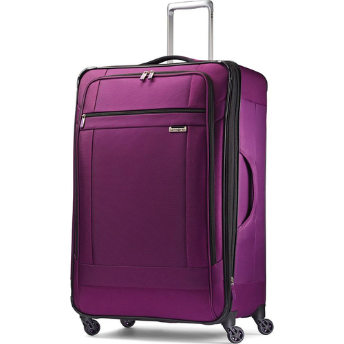 Samsonite SoLyte 29` Expandable Spinner Suitcase Luggage - Purple Magic