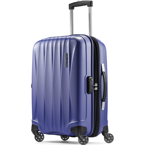 American Tourister 20` Arona Premium Hardside Spinner Luggage (Blue) - 73072-1090