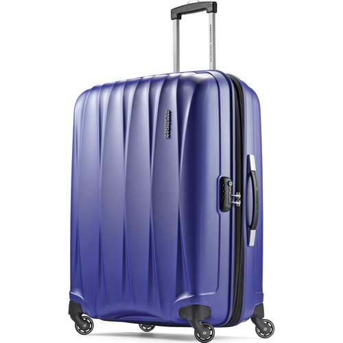 American Tourister 25` Arona Premium Hardside Spinner Luggage (Blue) - 73073-1090