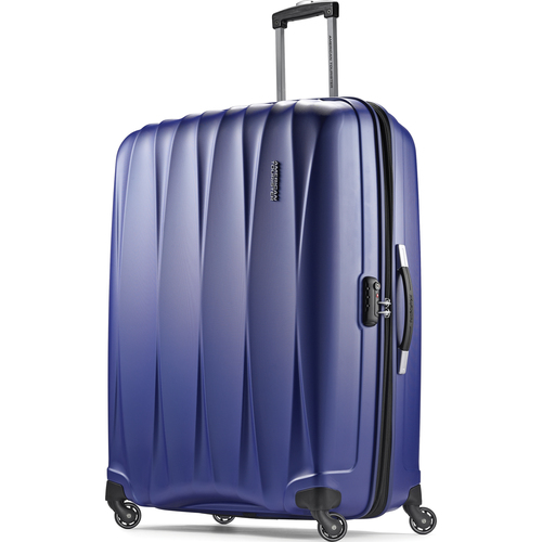 American Tourister 29` Arona Premium Hardside Spinner Luggage (Blue) - 73074-1090