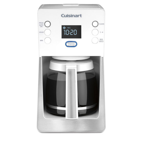 Cuisinart Perfec Temp 14-Cup Programmable Coffeemaker, White - Factory Refurbished