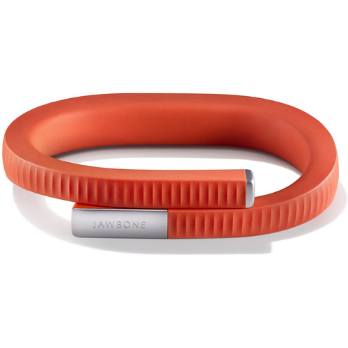 Jawbone UP 24 Bluetooth Enabled Large, Persimmon Red (Certified Refurbished)