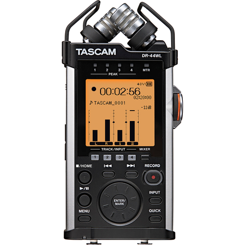 Tascam Portable Recorder with XLR and Wi-fi DR-44WL