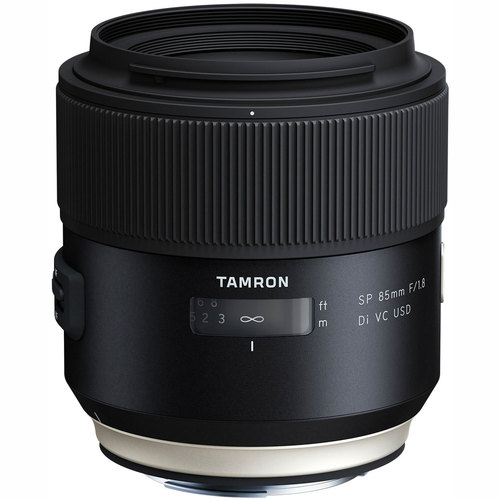 Tamron SP 85mm f1.8 Di VC USD Lens for Canon Full-Frame EF Mount Cameras (F016)