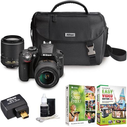Nikon D3300 24.2MP DSLR Camera Bundle