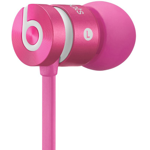 Beats By Dre Dr. Dre urBeats In-Ear Headphones (Pink) Certified Refurbished