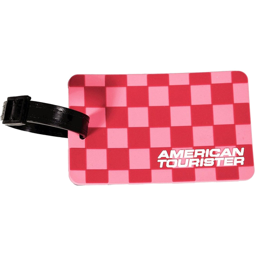 American Tourister Cherry Checks Luggage Tag