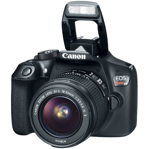 Canon EOS Rebel T6 Digital SLR Camera with EF-S 18-55mm IS II Lens Kit