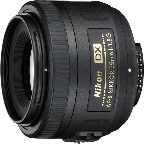 Nikon AF-S DX 35mm F/1.8G Lens (Certified Refurbished)