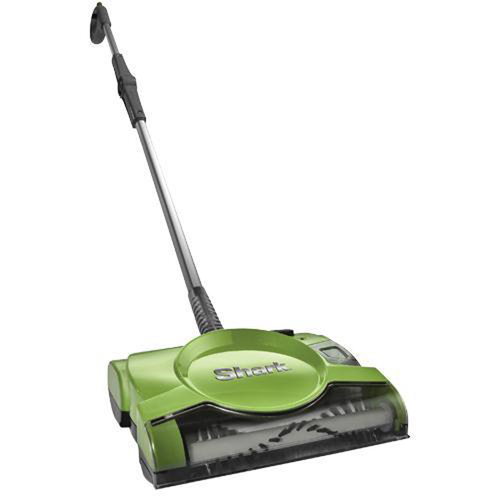 Shark V2930 10-inch Rechargeable Floor and Carpet Sweeper - Green