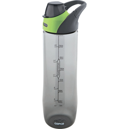 Copco Clip and Go 24 oz Bottle, Green