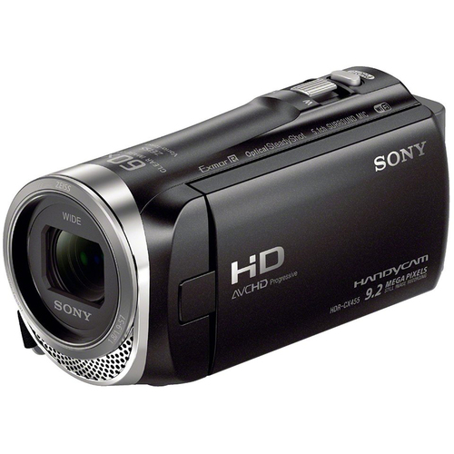 Sony HDR-CX455/B Full HD Handycam Camcorder with Exmor R CMOS Sensor - OPEN BOX