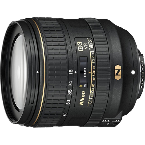 Nikon AF-S DX NIKKOR 16-80mm f/2.8-4E ED VR Lens for Nikon - OPEN BOX