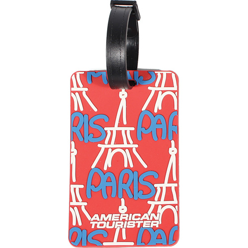 Paris City Luggage Tag