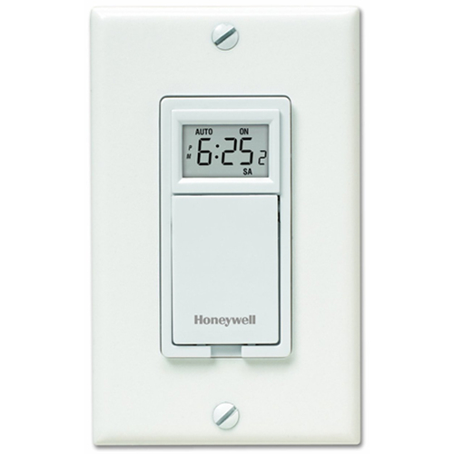 Honeywell 7-Day Programmable Light Switch Timer - White (RPLS530A1038/U)
