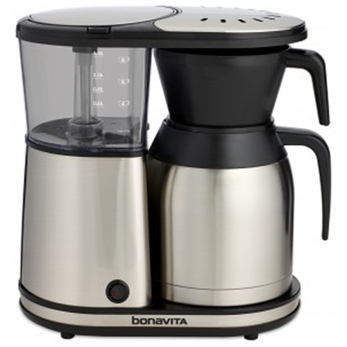 Bonavita 8-Cup Coffee Brewer with Stainless Steel Lined Thermal Carafe (BV1900TS)