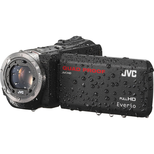 JVC GZ-R320DUS Quad Proof Black 40x Dynamic Zoom 60x Digital Zoom HD Cam - OPEN BOX