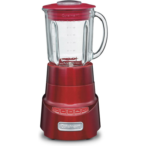 Cuisinart SPB-600MR SmartPower Deluxe Die Cast Blender, Metallic Red - Refurbished