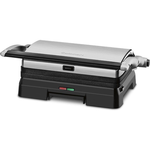 Cuisinart Griddler 3-in-1 Grill and Panini Press - Manufacturer Refurbished