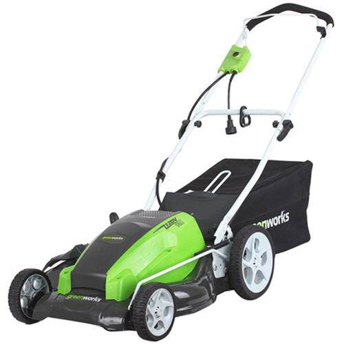Greenworks 13 Amp 21-inch Corded Lawn Mower (25112)