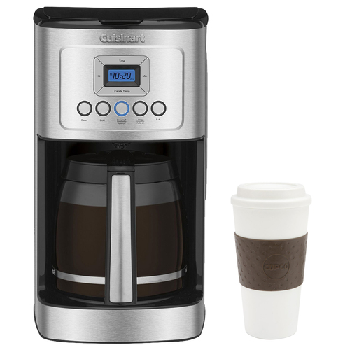Cuisinart DCC-3200 Perfect Temp 14-Cup Programmable Coffeemaker Silver w/ Copco 16oz. Mug