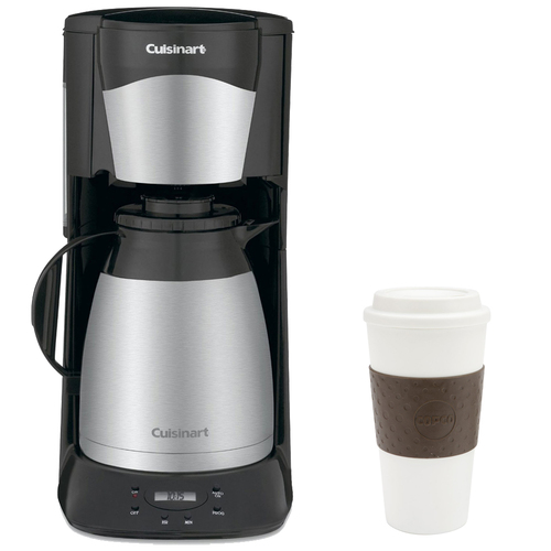 Cuisinart DTC-975BKN 12-Cup Programmable Thermal Coffeemaker (Black) w/ Copco 16oz. Mug