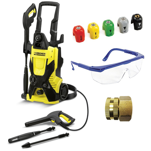 Karcher K4 X-Series 1900 PSI Electric Pressure Washer Deluxe Accessory Bundle