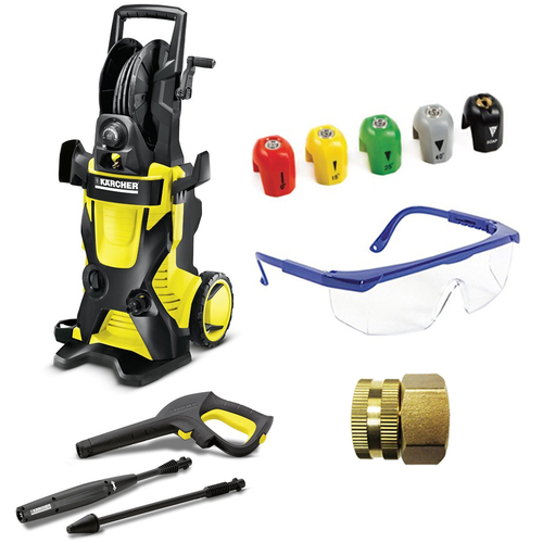 Karcher K4 Premium X-Series 1900 PSI Electric Pressure Washer Deluxe Accessory Bundle