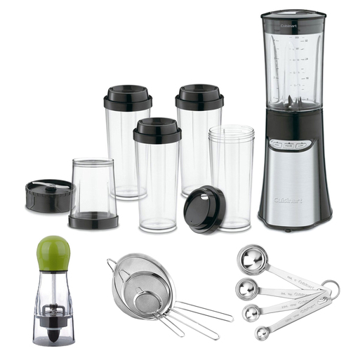 Cuisinart CPB-300 SmartPower 15-Piece Compact Port.Blending/Chopping System w/ excl.Bundle