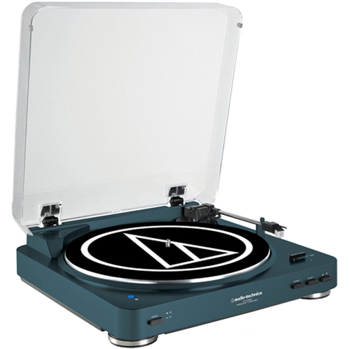 Audio-Technica Fully Automatic Bluetooth Wireless Belt-Drive Turntable (LE Navy) AT-LP60NV-BT