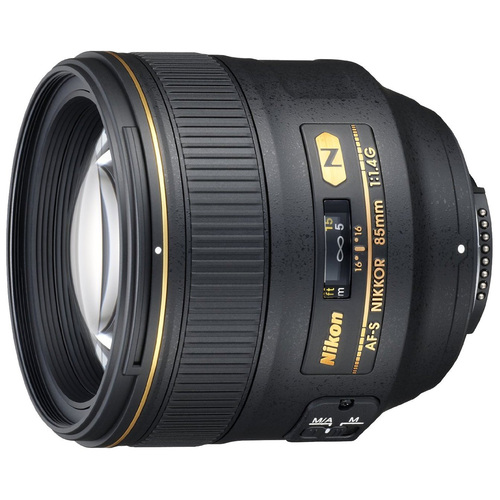 2195 - 85mm f/1.4G AF-S NIKKOR Lens for Nikon FX-format Digital SLR Cameras