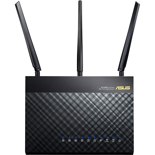 Asus Dual-Band Wireless AC1900 Gigabit Router - RT-AC68U