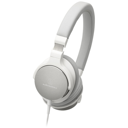 Audio-Technica ATH-SR5WH On-Ear High-Resolution Audio Headphones - White