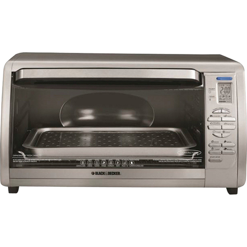 Black & Decker Digital Touchpad Toaster Oven - CTO6335S
