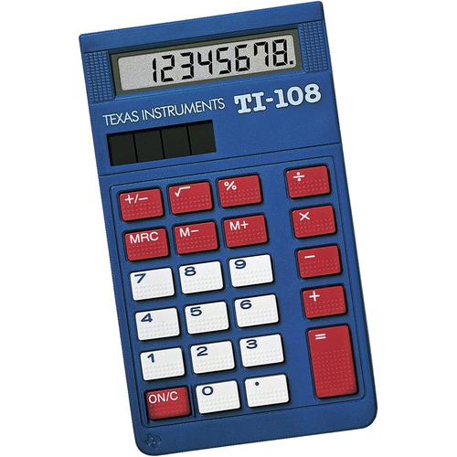 Texas Instruments Solar Power Calculator/Teacher's Kit - 108/TKT/1L1/C
