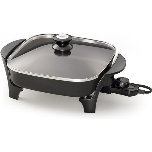 Presto 06626 11 inch Electric Skillet with Glass Lid