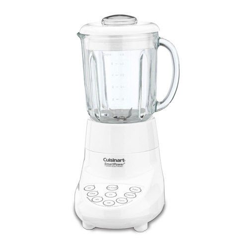 Cuisinart Smart Power 7 Speed Electric Blender, White - (Certified Refurbished)