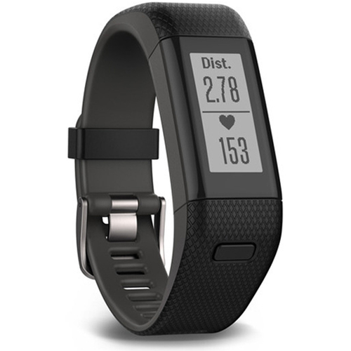 Garmin Vivosmart HR+ Activity Tracker Regular Fit, Black (010-01955-36)