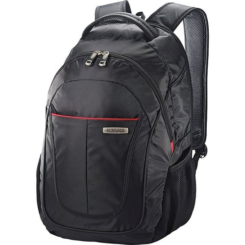 American Tourister Meridian Business Laptop Backpack (Jet Black)